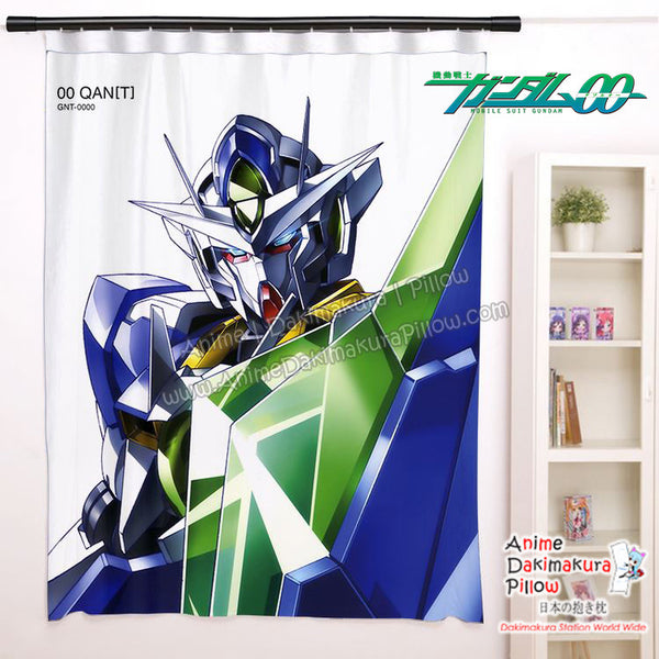 New Gundam 00 - Awakening of the Trailblazer Anime Japanese Window Curtain Door Entrance Room Partition H0467 - Anime Dakimakura Pillow Shop | Fast, Free Shipping, Dakimakura Pillow & Cover shop, pillow For sale, Dakimakura Japan Store, Buy Custom Hugging Pillow Cover - 1