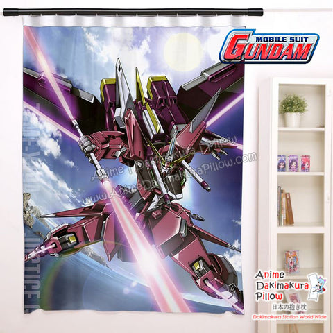 New Infinite Justice - Gundam Anime Japanese Window Curtain Door Entrance Room Partition H0471 - Anime Dakimakura Pillow Shop | Fast, Free Shipping, Dakimakura Pillow & Cover shop, pillow For sale, Dakimakura Japan Store, Buy Custom Hugging Pillow Cover - 1