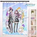 New Ayato and Julis - The Asterisk War Anime Japanese Window Curtain Door Entrance Room Partition H0473 - Anime Dakimakura Pillow Shop | Fast, Free Shipping, Dakimakura Pillow & Cover shop, pillow For sale, Dakimakura Japan Store, Buy Custom Hugging Pillow Cover - 1