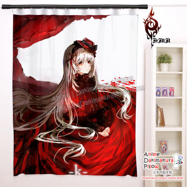 New Anna Kushina - K Project Anime Japanese Window Curtain Door Entrance Room Partition H0474 - Anime Dakimakura Pillow Shop | Fast, Free Shipping, Dakimakura Pillow & Cover shop, pillow For sale, Dakimakura Japan Store, Buy Custom Hugging Pillow Cover - 1