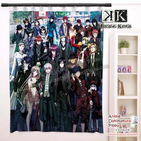 New Yashiro Isana, Kuroh Yatogami, Neko - Missing Kings Anime Japanese Window Curtain Door Entrance Room Partition H0475 - Anime Dakimakura Pillow Shop | Fast, Free Shipping, Dakimakura Pillow & Cover shop, pillow For sale, Dakimakura Japan Store, Buy Custom Hugging Pillow Cover - 1