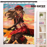 New Alisa Illinichina Amiella - God Eater Anime Japanese Window Curtain Door Entrance Room Partition H0479 - Anime Dakimakura Pillow Shop | Fast, Free Shipping, Dakimakura Pillow & Cover shop, pillow For sale, Dakimakura Japan Store, Buy Custom Hugging Pillow Cover - 1