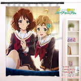 New  Kumiko Oumae & Sapphire Kawashima - HIBIKE! EUPHONIUM KUMIKO OUMAE Anime Japanese Window Curtain Door Entrance Room Partition H0482 - Anime Dakimakura Pillow Shop | Fast, Free Shipping, Dakimakura Pillow & Cover shop, pillow For sale, Dakimakura Japan Store, Buy Custom Hugging Pillow Cover - 1