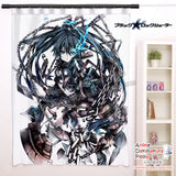 New Mato kuroi - Black Rock Shooter Anime Japanese Window Curtain Door Entrance Room Partition H0484 - Anime Dakimakura Pillow Shop | Fast, Free Shipping, Dakimakura Pillow & Cover shop, pillow For sale, Dakimakura Japan Store, Buy Custom Hugging Pillow Cover - 1
