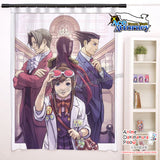 New Phoenix Wright -  Ace Attorney Anime Japanese Window Curtain Door Entrance Room Partition H0485 - Anime Dakimakura Pillow Shop | Fast, Free Shipping, Dakimakura Pillow & Cover shop, pillow For sale, Dakimakura Japan Store, Buy Custom Hugging Pillow Cover - 1