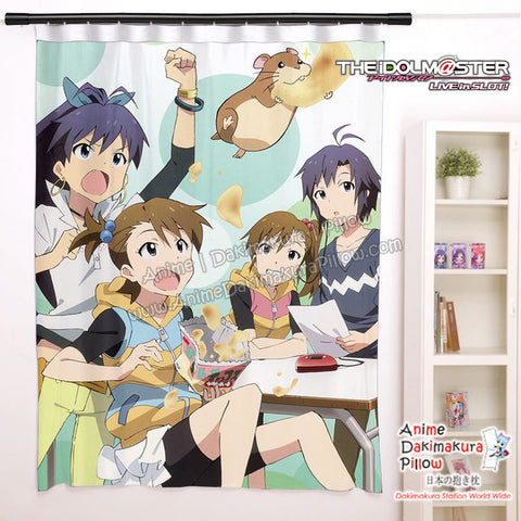 New Hibiki Ganaha, Ami and Mami Futami, Azusa Miura - The Idonmaster Anime Japanese Window Curtain Door Entrance Room Partition  H0488 - Anime Dakimakura Pillow Shop | Fast, Free Shipping, Dakimakura Pillow & Cover shop, pillow For sale, Dakimakura Japan Store, Buy Custom Hugging Pillow Cover - 1