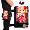 New Flandre Scarlet - Touhou Project Anime  Japanese Fanny Pack Travel Clutch Waist Thigh Bag H0499 - Anime Dakimakura Pillow Shop | Fast, Free Shipping, Dakimakura Pillow & Cover shop, pillow For sale, Dakimakura Japan Store, Buy Custom Hugging Pillow Cover - 1