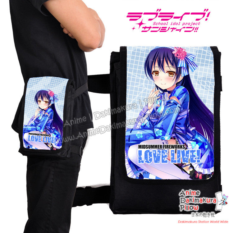 New Umi Sonoda - Love Live! Anime  Japanese Fanny Pack Travel Clutch Waist Thigh Bag H0502