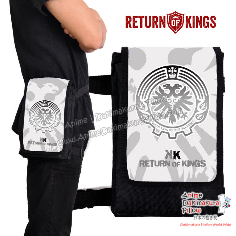New Return of Kings Anime  Japanese Fanny Pack Travel Clutch Waist Thigh Bag H0511