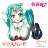 New Hatsune Miku - Vocaloid Anime Ergonomic 3D Mouse Pad Sexy Butt Wrist Rest Oppai H0524 - Anime Dakimakura Pillow Shop | Fast, Free Shipping, Dakimakura Pillow & Cover shop, pillow For sale, Dakimakura Japan Store, Buy Custom Hugging Pillow Cover - 1