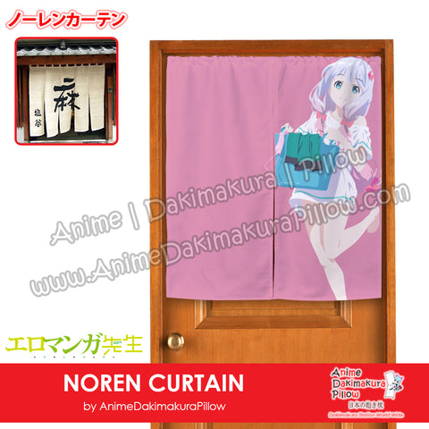 New Sagiri Izumi - Eromanga Sensei Japanese Anime Noren Fabric Doorway Home Curtain Drapes Tapestry H120010