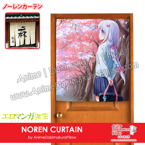 New Sagiri Izumi - Eromanga Sensei Japanese Anime Noren Fabric Doorway Home Curtain Drapes Tapestry H120011