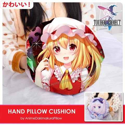 New-Flandre-Scarlet-Touhou-Project-Anime-Hand-Pillow-Cushion-Comfortable-Fleece-Flannel-Hand-Warmer-Travel-Pillow-H130008