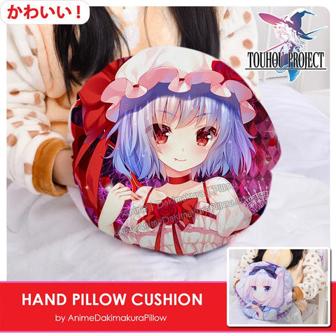 New-Remilia-Scarlet-Touhou-Project-Anime-Hand-Pillow-Cushion-Comfortable-Fleece-Flannel-Hand-Warmer-Travel-Pillow-H130020