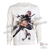New-2B-Nier-Automata-Anime-Round-Neck-Long-Sleeve-Pullover-Sweater-H140002