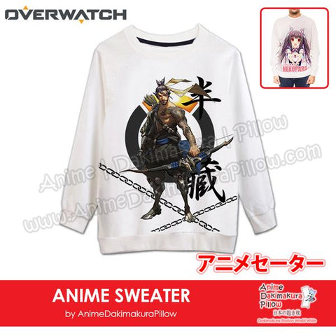 New-Hanzo-Overwatch-Male-Anime-Round-Neck-Long-Sleeve-Pullover-Sweater-H140011