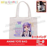 New-Suzukabe-Aoba-New-Game-Anime-Natural-Canvas-Reusable-Environmental-Heavy-Duty-Shopping-Tote-Bag-H150025