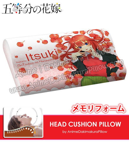 New-Itsuki-Nakano-The-Quintessential-Quintuplets-Japanese-Anime-Head-Cushion-Pillow-Deluxe-Memory-Soft-Head-Foam-ADP190003