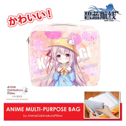 ADP Kisaragi - Azur Lane Anime Multi-Purpose Bag Medium Size Travel Pouch Storage Accessories Make-up Organizer H200016