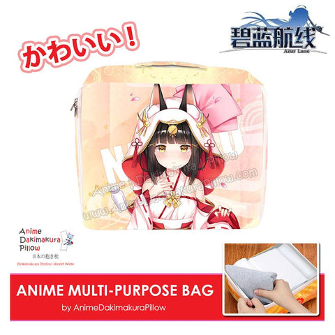 ADP Nagato - Azur Lane Anime Multi-Purpose Bag Medium Size Travel Pouch Storage Accessories Make-up Organizer H200017