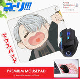ADP Victor Nikiforov - Yuri on Ice Anime Premium Mousepad Standard Size Stitched Edge Mouse Pad Non-Slip Professional Gaming Desk Pad H210018
