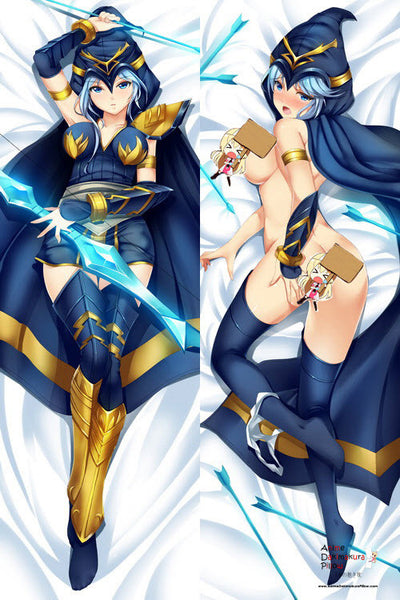 New  League of Legends Ashe Anime Dakimakura Japanese Pillow Cover ADP-3004 - Anime Dakimakura Pillow Shop | Fast, Free Shipping, Dakimakura Pillow & Cover shop, pillow For sale, Dakimakura Japan Store, Buy Custom Hugging Pillow Cover - 1