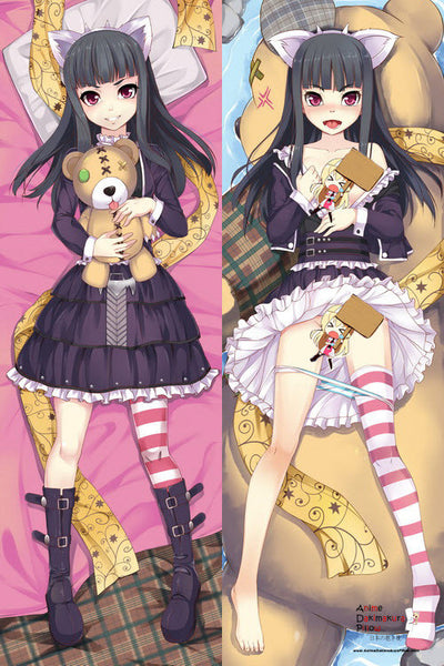 New  League of Legends Annie Anime Dakimakura Japanese Pillow Cover LOL6 - Anime Dakimakura Pillow Shop | Fast, Free Shipping, Dakimakura Pillow & Cover shop, pillow For sale, Dakimakura Japan Store, Buy Custom Hugging Pillow Cover - 1