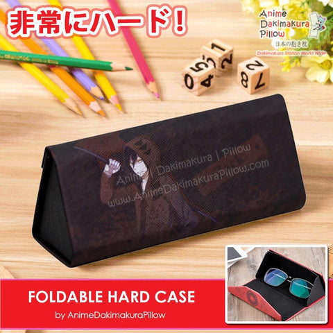 ADP Zack Isaac Foster - Satsuriku no Tenshi Anime Portable and Foldable Hard Durable Case for Eyeglasses, Sunglasses, Stationary Protection H240007