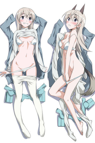 New  Strike Witches Eila Anime Dakimakura Japanese Pillow CoveråÊStrike Witches Eila1 - Anime Dakimakura Pillow Shop | Fast, Free Shipping, Dakimakura Pillow & Cover shop, pillow For sale, Dakimakura Japan Store, Buy Custom Hugging Pillow Cover - 1