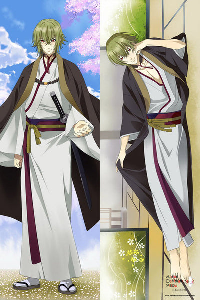 "New  Hakouki Movie ""Male"" -Hijikata Toshizou- Anime Dakimakura Japanese Pillow Cover Hakouki Movie1 - Anime Dakimakura Pillow Shop 