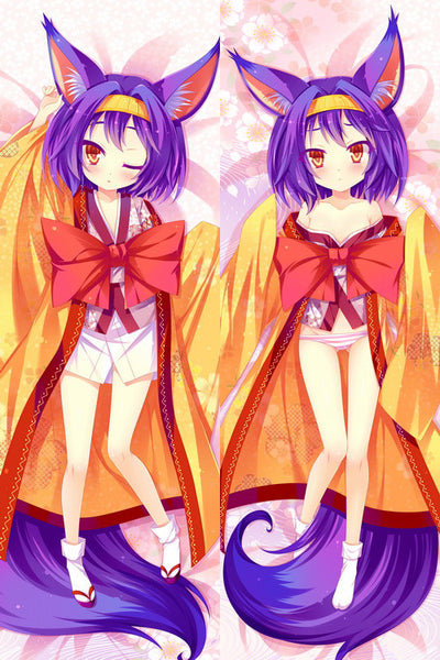 New  No Game No Life Izuna Anime Dakimakura Japanese Pillow Cover H2557