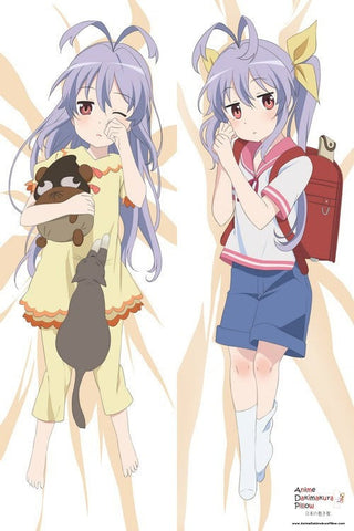 New   Non Non Biyori Anime Dakimakura Japanese Pillow Cover H2562 - Anime Dakimakura Pillow Shop | Fast, Free Shipping, Dakimakura Pillow & Cover shop, pillow For sale, Dakimakura Japan Store, Buy Custom Hugging Pillow Cover - 1