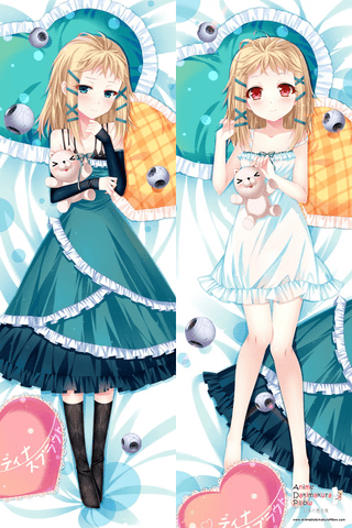 New  Black Bullet Tina Sprout Anime Dakimakura Japanese Pillow Cover H2582 - Anime Dakimakura Pillow Shop | Fast, Free Shipping, Dakimakura Pillow & Cover shop, pillow For sale, Dakimakura Japan Store, Buy Custom Hugging Pillow Cover - 1