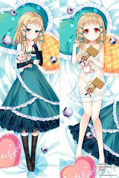 New   Black Bullet Anime Dakimakura Japanese Pillow Cover H2583 - Anime Dakimakura Pillow Shop | Fast, Free Shipping, Dakimakura Pillow & Cover shop, pillow For sale, Dakimakura Japan Store, Buy Custom Hugging Pillow Cover - 1
