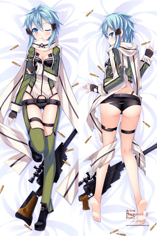 New   Sword Art Online Anime Dakimakura Japanese Pillow Cover H2602 - Anime Dakimakura Pillow Shop | Fast, Free Shipping, Dakimakura Pillow & Cover shop, pillow For sale, Dakimakura Japan Store, Buy Custom Hugging Pillow Cover - 1
