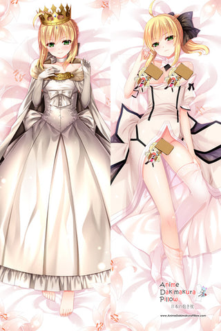 New Fate Stay Night  Anime Dakimakura Japanese Pillow Cover H2688 - Anime Dakimakura Pillow Shop | Fast, Free Shipping, Dakimakura Pillow & Cover shop, pillow For sale, Dakimakura Japan Store, Buy Custom Hugging Pillow Cover - 1