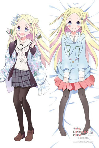 New Hanayamata - Hannah N. Fontanstand Anime Dakimakura Japanese Pillow Cover H2736 - Anime Dakimakura Pillow Shop | Fast, Free Shipping, Dakimakura Pillow & Cover shop, pillow For sale, Dakimakura Japan Store, Buy Custom Hugging Pillow Cover - 1