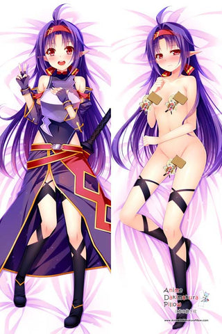 New  Sword Art Online  Anime Dakimakura Japanese Pillow Cover H2740 - Anime Dakimakura Pillow Shop | Fast, Free Shipping, Dakimakura Pillow & Cover shop, pillow For sale, Dakimakura Japan Store, Buy Custom Hugging Pillow Cover - 1