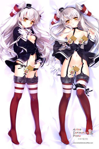 New Kantai Collection Anime Dakimakura Japanese Pillow Cover H2744 - Anime Dakimakura Pillow Shop | Fast, Free Shipping, Dakimakura Pillow & Cover shop, pillow For sale, Dakimakura Japan Store, Buy Custom Hugging Pillow Cover - 1
