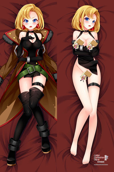 New Junketsu no Maria Maria Anime Dakimakura Japanese Pillow Cover H2811 - Anime Dakimakura Pillow Shop | Fast, Free Shipping, Dakimakura Pillow & Cover shop, pillow For sale, Dakimakura Japan Store, Buy Custom Hugging Pillow Cover - 1