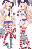 New Kantai Collection Shimakaze Anime Dakimakura Japanese Pillow Cover H2843 - Anime Dakimakura Pillow Shop | Fast, Free Shipping, Dakimakura Pillow & Cover shop, pillow For sale, Dakimakura Japan Store, Buy Custom Hugging Pillow Cover - 2