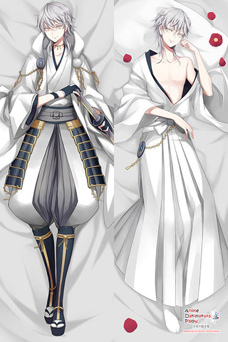 Touken Ranbu Tsurumaru Kuninaga Anime Male Dakimakura Japanese Pillow Cover H2886 - Anime Dakimakura Pillow Shop | Fast, Free Shipping, Dakimakura Pillow & Cover shop, pillow For sale, Dakimakura Japan Store, Buy Custom Hugging Pillow Cover - 1