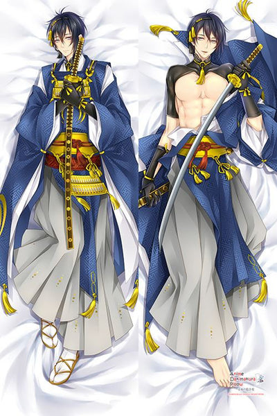 New Touken Ranbu Anime Dakimakura Japanese Hugging Body Pillow Cover H2936 - Anime Dakimakura Pillow Shop | Fast, Free Shipping, Dakimakura Pillow & Cover shop, pillow For sale, Dakimakura Japan Store, Buy Custom Hugging Pillow Cover - 1