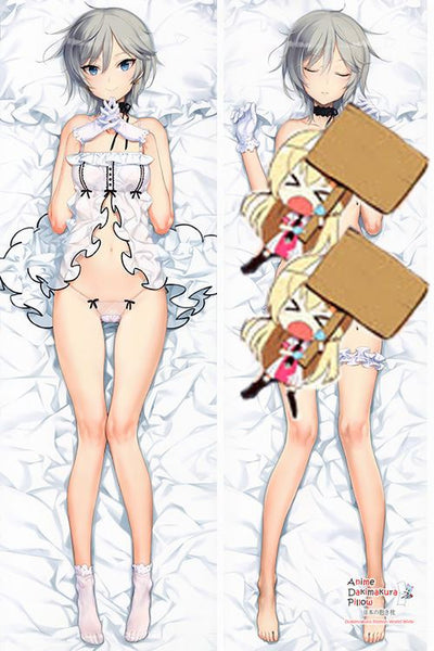 New  Idolmaster Custom Made Anime Dakimakura Japanese Hugging Body Pillow Cover H2950