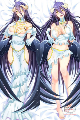New Overlord Albedo Anime Dakimakura Japanese Hugging Body Pillow Cover H2953 - Anime Dakimakura Pillow Shop | Fast, Free Shipping, Dakimakura Pillow & Cover shop, pillow For sale, Dakimakura Japan Store, Buy Custom Hugging Pillow Cover - 1