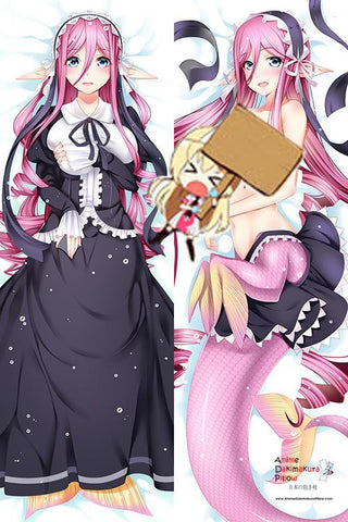 New Meroune Lorelei - Monster Musume Anime Dakimakura Japanese Hugging Body Pillow Cover H2968 - Anime Dakimakura Pillow Shop | Fast, Free Shipping, Dakimakura Pillow & Cover shop, pillow For sale, Dakimakura Japan Store, Buy Custom Hugging Pillow Cover - 1