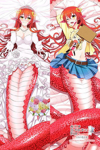 New Miia - Monster Musume Anime Dakimakura Japanese Hugging Body Pillow Cover H2975 - Anime Dakimakura Pillow Shop | Fast, Free Shipping, Dakimakura Pillow & Cover shop, pillow For sale, Dakimakura Japan Store, Buy Custom Hugging Pillow Cover - 1