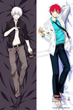 New Tokyo Ghoul and Kuroko no Basket  Male Anime Dakimakura Japanese Hugging Body Pillow Cover H2994 H2996 - Anime Dakimakura Pillow Shop | Fast, Free Shipping, Dakimakura Pillow & Cover shop, pillow For sale, Dakimakura Japan Store, Buy Custom Hugging Pillow Cover - 1