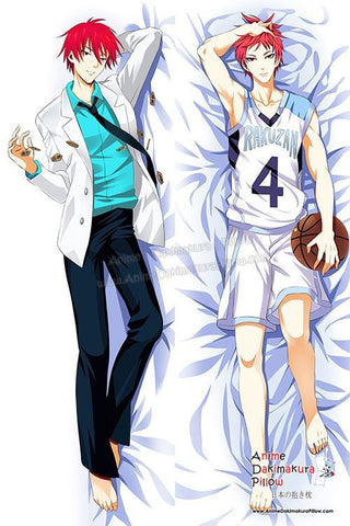 New Seijuro Akashi - Kuroko no Basket Male Anime Dakimakura Japanese Hugging Body Pillow Cover H2996 - Anime Dakimakura Pillow Shop | Fast, Free Shipping, Dakimakura Pillow & Cover shop, pillow For sale, Dakimakura Japan Store, Buy Custom Hugging Pillow Cover - 1