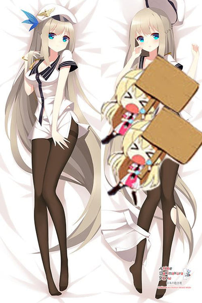 New Lexington - Warship Girls Anime Dakimakura Japanese Hugging Body Pillow Cover H3036